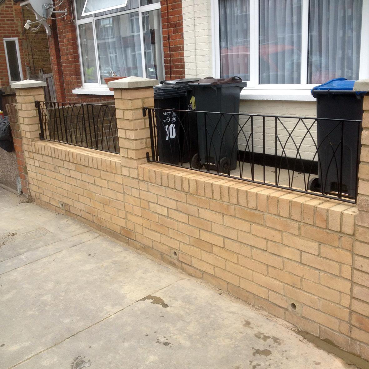 Replacement garden wall